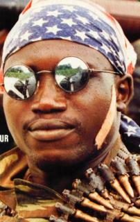 The front page of the BBC Focus on Africa magazine. This issue carried the report on the May 25, 1997 coup.