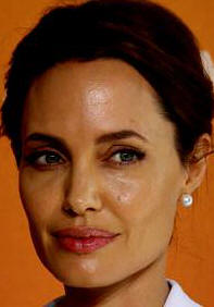 Angelina Jolie - co-chaired the London meeting.