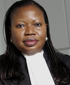 Mrs Fatou Bensouda - she becomes the next prosecutor at the ICC next year