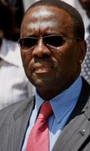 Kenya's Chief Justice Willy Mutunga - his 6-person panel has decided today that Uhuru Kenyatta won the recent Presidential race.