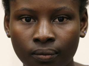 Deborah Peter - survivor of Boko Haram atrocity.