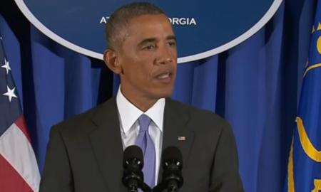 US President Obama delivers his message of hope and promises to lead from the front in the battle against the Ebola scourge.