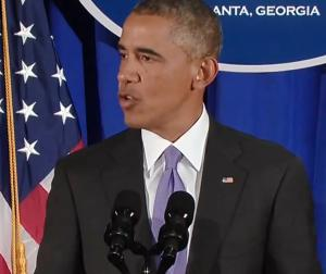 US President Obama delivers a message of hope in the fight against the Ebola scourge. Says the United States will now lead from the front in the fight against the Ebola menace.