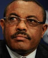 Ethiopian Prime Minister Hailemariam Desalegn - put his foot right there - in his mouth