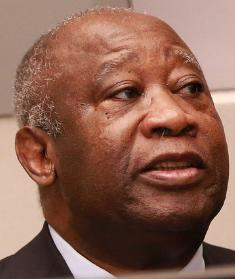 Former Ivory Coast President Gbagbo. He used illegal means to stay in power using his men to commit murder, rape and arson.