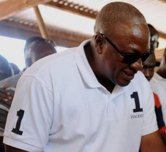 The man declared winner of December 7 polls incumbent President John Mahama