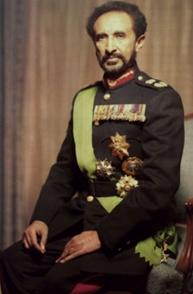The Organisation of African Unity's first host and President, Emperor Haille Selassie