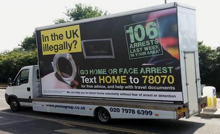 The Tory campaign against illegal immigrants - backfired.