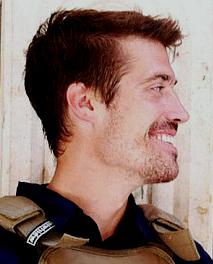 James Foley. He had been to other troubled spots before. RIP