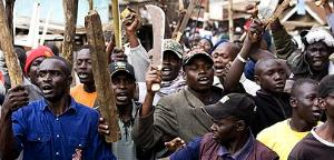 Blood-thirsty mobs on the rampage in Kenya
