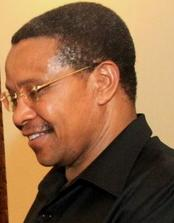 Tanzanian President Jakaya Kikwete - He was in invited by the Obama administration