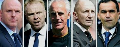 Managers in the firing line today Survival Sunday