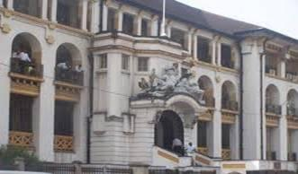 Law courts main building in Freetown - whose justice do they serve?