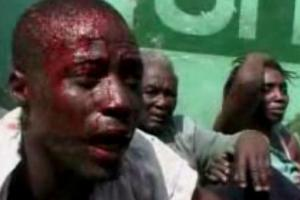This is a part of the picture of the violence on the opposition party in March 2009.