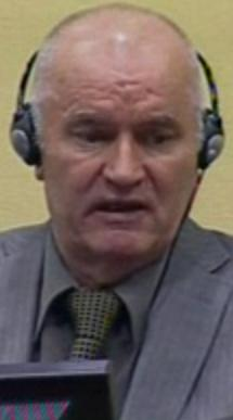 Mladic in the Hague - refuses to take a plea.