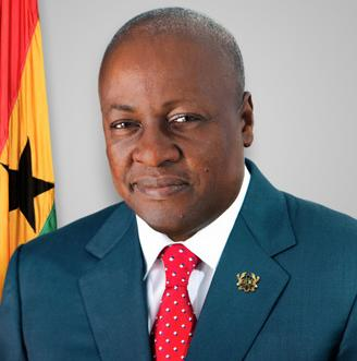 Defeated incumbent John Mahama conceded and wished his successor well.