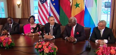 US President Obama going overboard in his praise for Ernest Bai Koroma in the area of good governance. Worrying signals, very worrying. Who prepared Obama's briefing notes?
