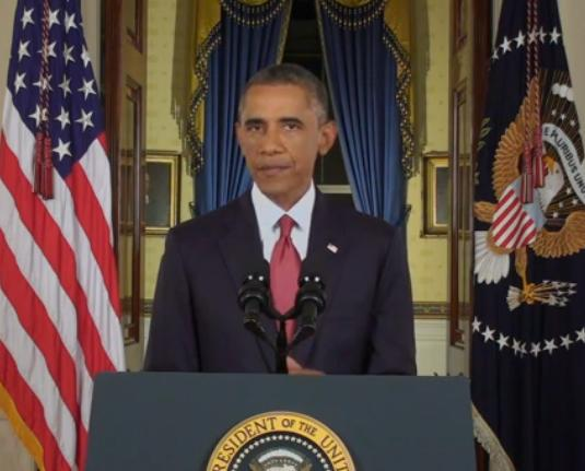 President Obama addresses Americans on plans to degrade and destroy the terrorist and cowardly group ISIS.