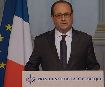 President Hollande has vowed to take the battle to the terrorists