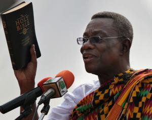 The late Prof John Evans Atta Mills. He died suddenly on July 24, 2012. Aged 68. RIP