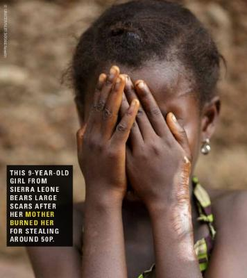 The great shame - violence against children in Sierra Leone.