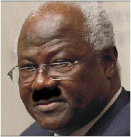 Sierra Leone's own home grown Hitler. The monster who believes he should tamper with the Constitution and get away with it.