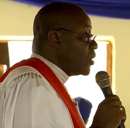 The Head of the United Methodist Church in Sierra Leone Bishop John Yambasu