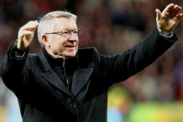 One of the UK most, if not the most Sir Alex Ferguson. We wish him well in his active retirement