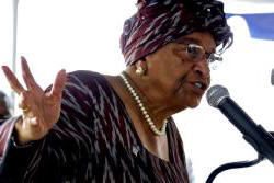 Liberian President Johnson-Sirleaf. She showed true leadership. Lifting the state of emergency when appropriate and not using it as a political tool for the repression of dissent. Bravo.