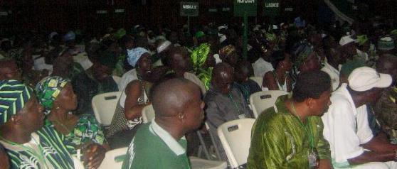 The SLPP Convention that elected Rtd Brigadier Julius Maada Bio - Photo: Unity Now Online