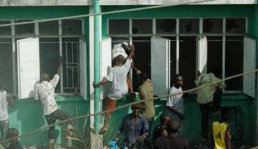 SLPP headquarters under attack