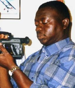 Journalist Sorious Samura - now declared an enemy of the state - just for doing his job