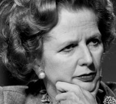 Baroness Thatcher who has died - RIP