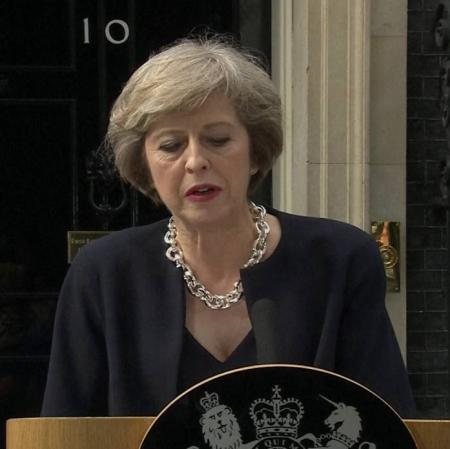 New UK Prime Minister Theresa May