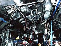 Six years ago - the state of things inside a train coach after cowardly attack