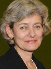 UNESCO's top gun Irina Bokova - a champion for press freedom and expression.