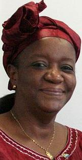 Former Foreign Minister Zainab Hawa Bangura - spurned by the dreg men posing as journalists