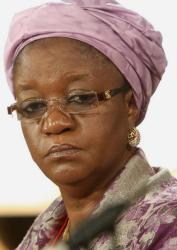 Sierra Leone's Zainab Hawa Bangura - has quite a lot on her plate. We wish her well.